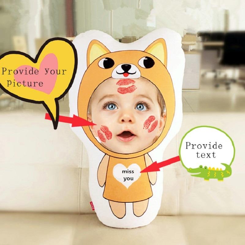 Habinisi diy foto personalizada muñeca de peluche 12 zodíaco conejo - Muñecas y accesorios - foto 3