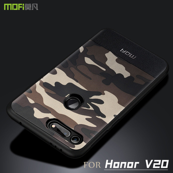 Honor просмотра 20 чехол MOFI для huawei honor просмотра 20 Камуфляжный кожаный чехол honor V20 полный Чехол view 20 чехол 6,4'' >> Mofi Factory Store