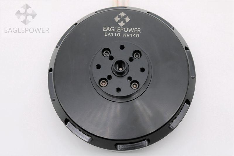 EA110 moteur sans brosse drone agricole moteur aigle puissance T11 20 KG poussée adapté pour 30-35 pouces paddle 120A ESC 1 PC
