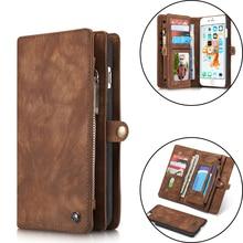 Роскошный кожаный чехол для iPhone X XR XS Max 10 8 7 6 6s плюс Чехол-книжка с бумажником крышка магнита Бизнес чехол для iPhone 7 Plus