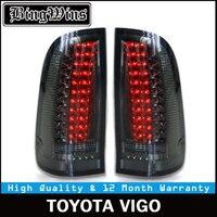 BINGWINS Car led Rear lamp for Vigo taillight 2008 2014 LED Hilux tail lights For Revo Taillights Back light ALL LED spot Drl