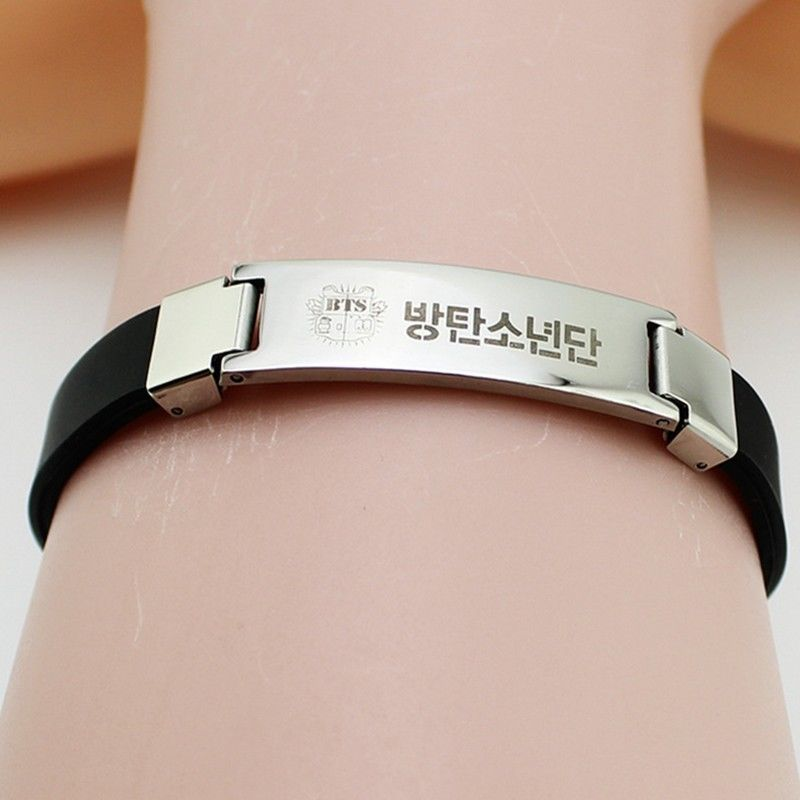 [PCMOS] KPOP BTS WINGS Titanium Steel Bangtan Boys SUGA JIMIN JIN V JUNGKOOK Bracelet Fans Pendant Support Gift Toys 16102514 seiko часы seiko srpa17j1 коллекция premier