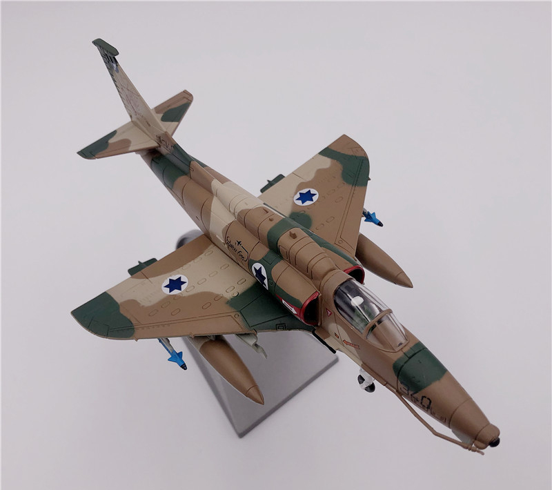 rare Special Offer 1 72 Middle East War Israeli Air Force Model of A4 Attacker alloy