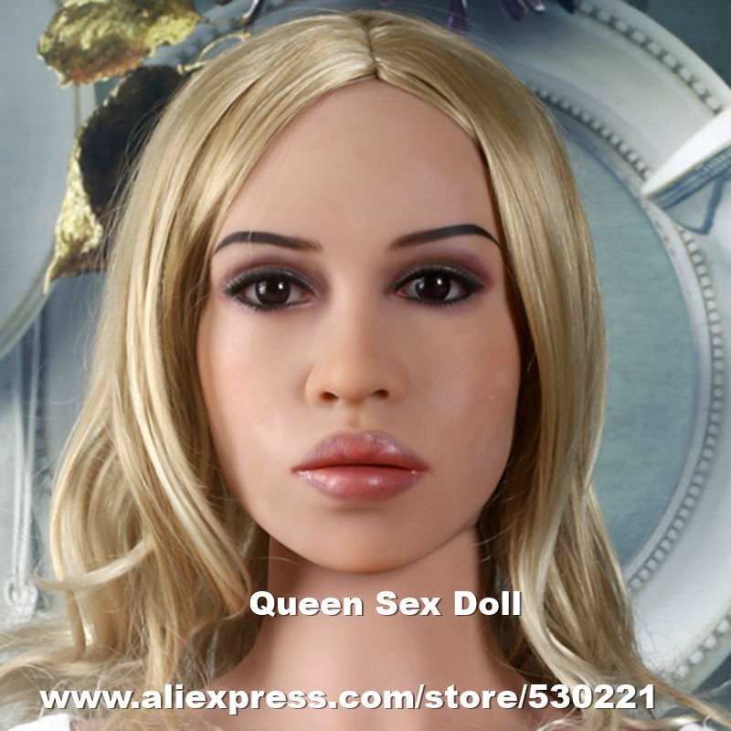 WMDOLL Top quality #127 silicone sex dolls head for real adult doll, japanese realistic dolls heads, sex toys for men wmdoll top quality silicone sex doll head for real human dolls real doll adult oral sex toy for men