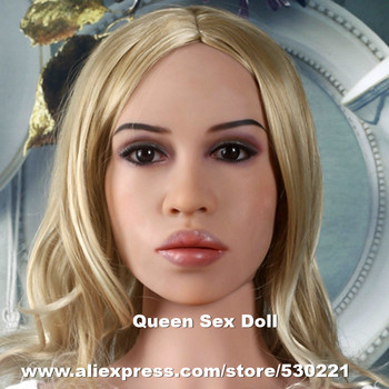 WMDOLL Top quality #127 silicone sex dolls head for real adult doll, japanese realistic dolls heads, sex toys for men