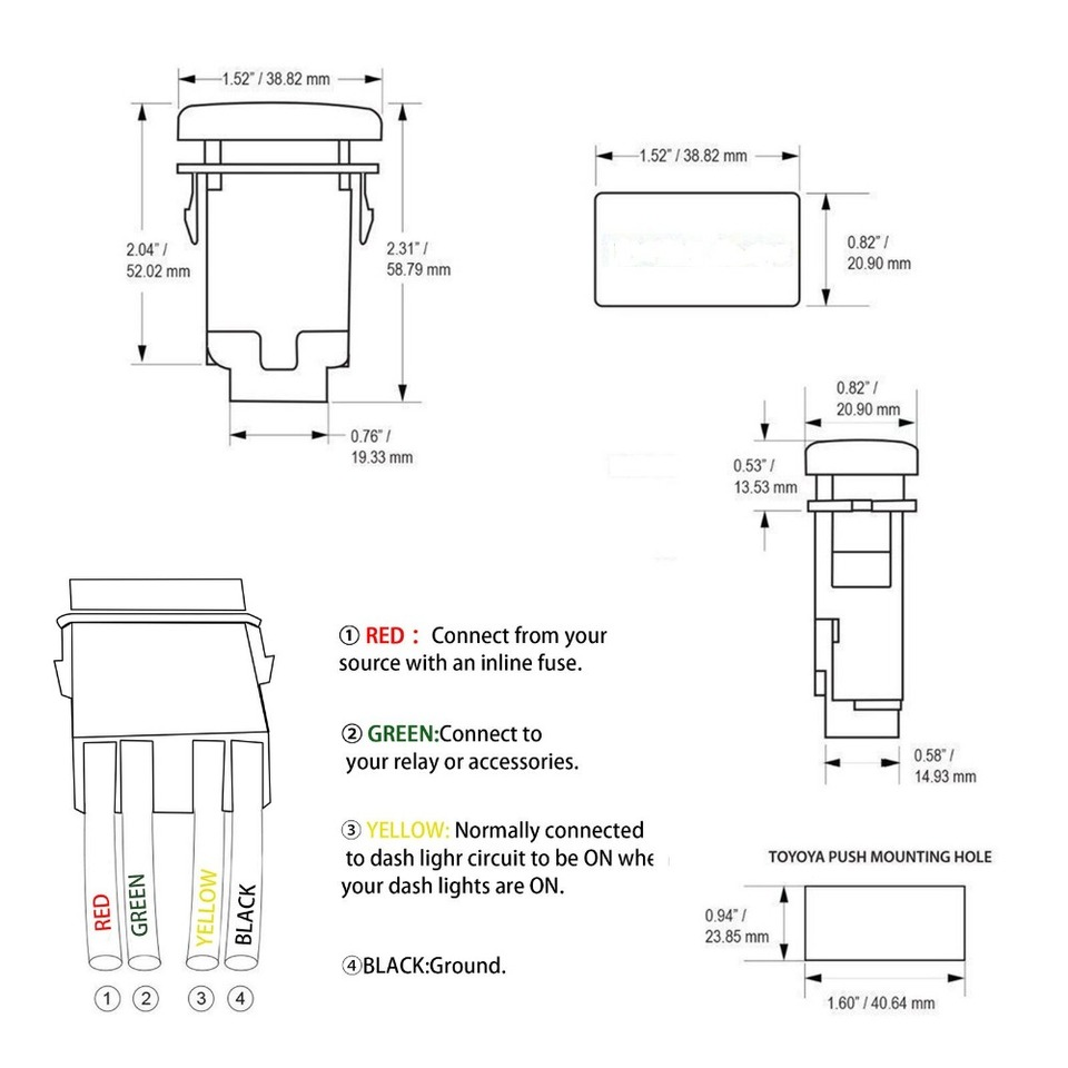 12V-24v Push Switch USB POWER Symbol car big push on switch for HILUX on amplifier symbol, quick connect symbol, usb charger schematic, usb type a schematic, usb cable symbol, block valve symbol, usb schematic diagram, usb cad symbol, usb cable schematic, usb port diagram, capacitor circuit symbol, usb 2.0 cable diagram, usb wiring schematic, usb to rs232 schematic, usb 3.0 pinout diagram, usb power symbol, usb charger circuit, usb connector schematic, usb 3.0 wiring-diagram, usb wire diagram and function,