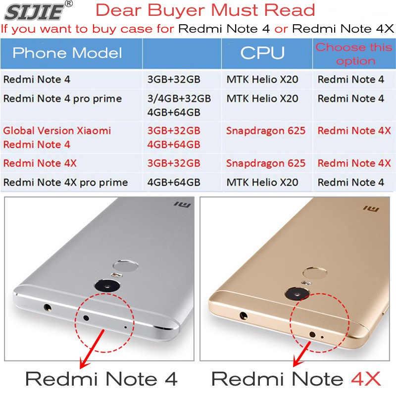 Custodie Per Xiaomi Redmi NOTE 4 4X X PRO prime MTK Helio X20 Snapdragon 625 Silicone NOTE4 Shell Cover Coque pulito TPU custodia protettiva