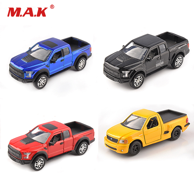 2017 F 150 Raptor 1 32 Diecast Pickup Truck Car Vehicles Alloy Jada Toys Yellow 1999 SVT Lightning