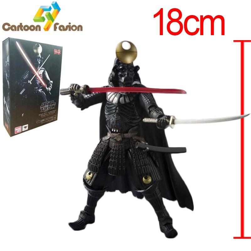 все цены на  18cm Star Wars Action Figure Darth Vader Sic Samurai Taisho PVC MOVIE Realization Anime Star Wars Action Figures Toys in Box  онлайн
