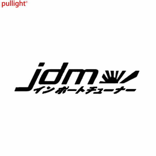 Cool graphics car styling personality jdm japan vinyl decal window car stickers