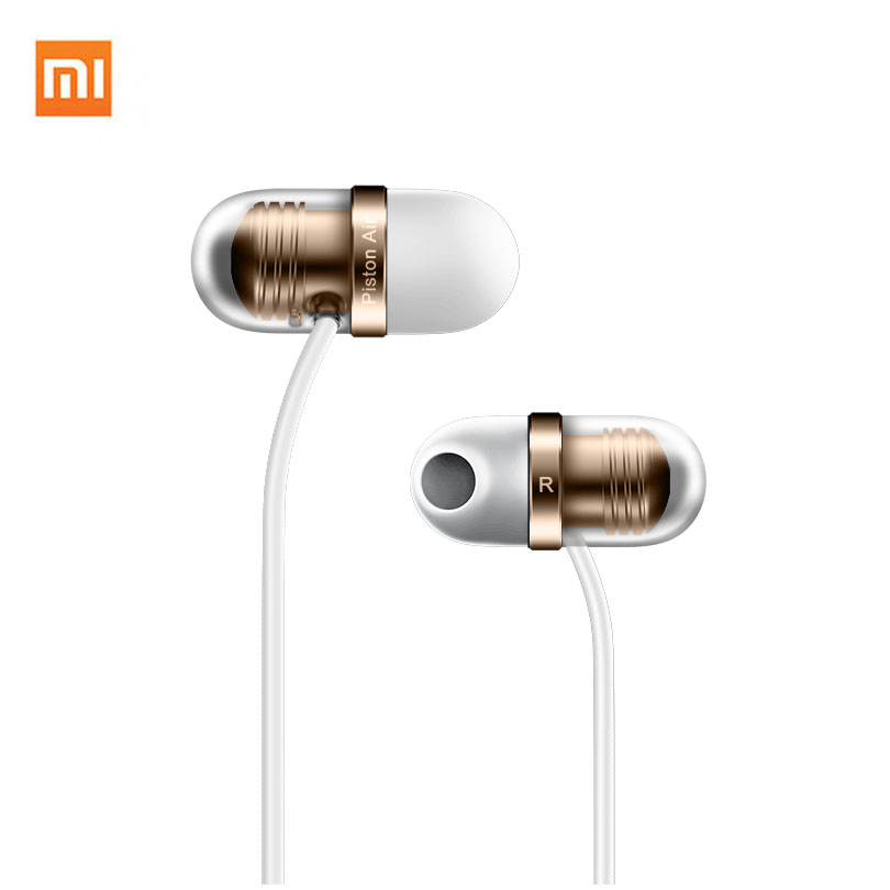 Xiaomi Mi Air Capsule Earphone In-Ear Piston Earbud Wired earphone Hi-Fi anti-noise With Mic For Iphone Huawei Samsung ��аушники xiaomi xiaomi m2 iphone samsung mp3 xiaomi piston earphone