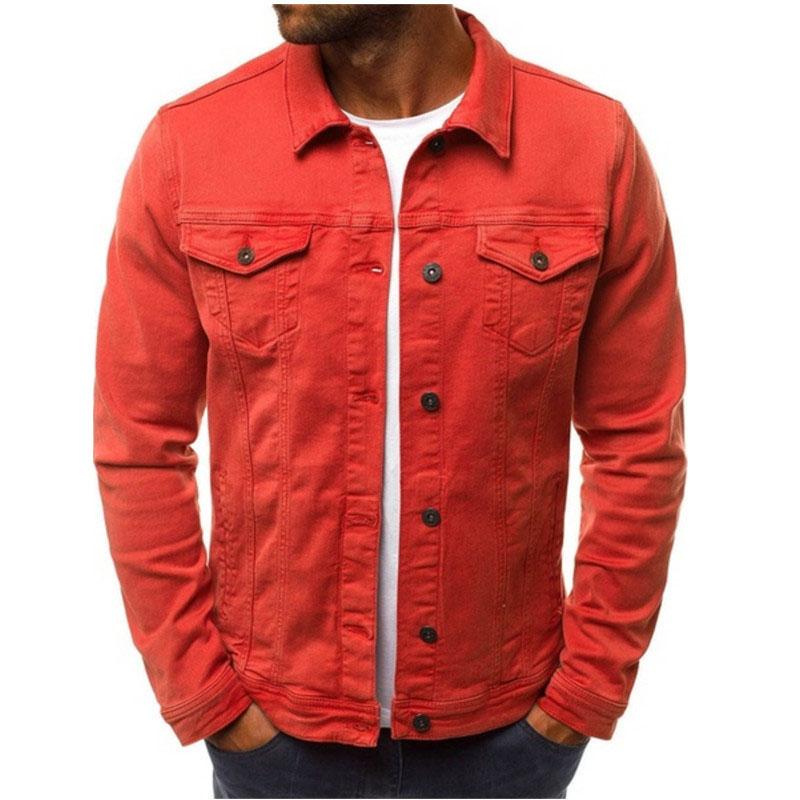 HTB13hEbLMHqK1RjSZJnq6zNLpXaq 2019 men's Jacket casual overalls jacket jacket Coats Man Buttons