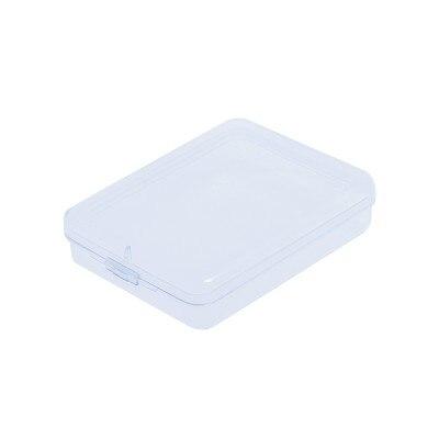 BF040 Simple Rectangular plastic box small transparent cosmetic storage box 9*11cm
