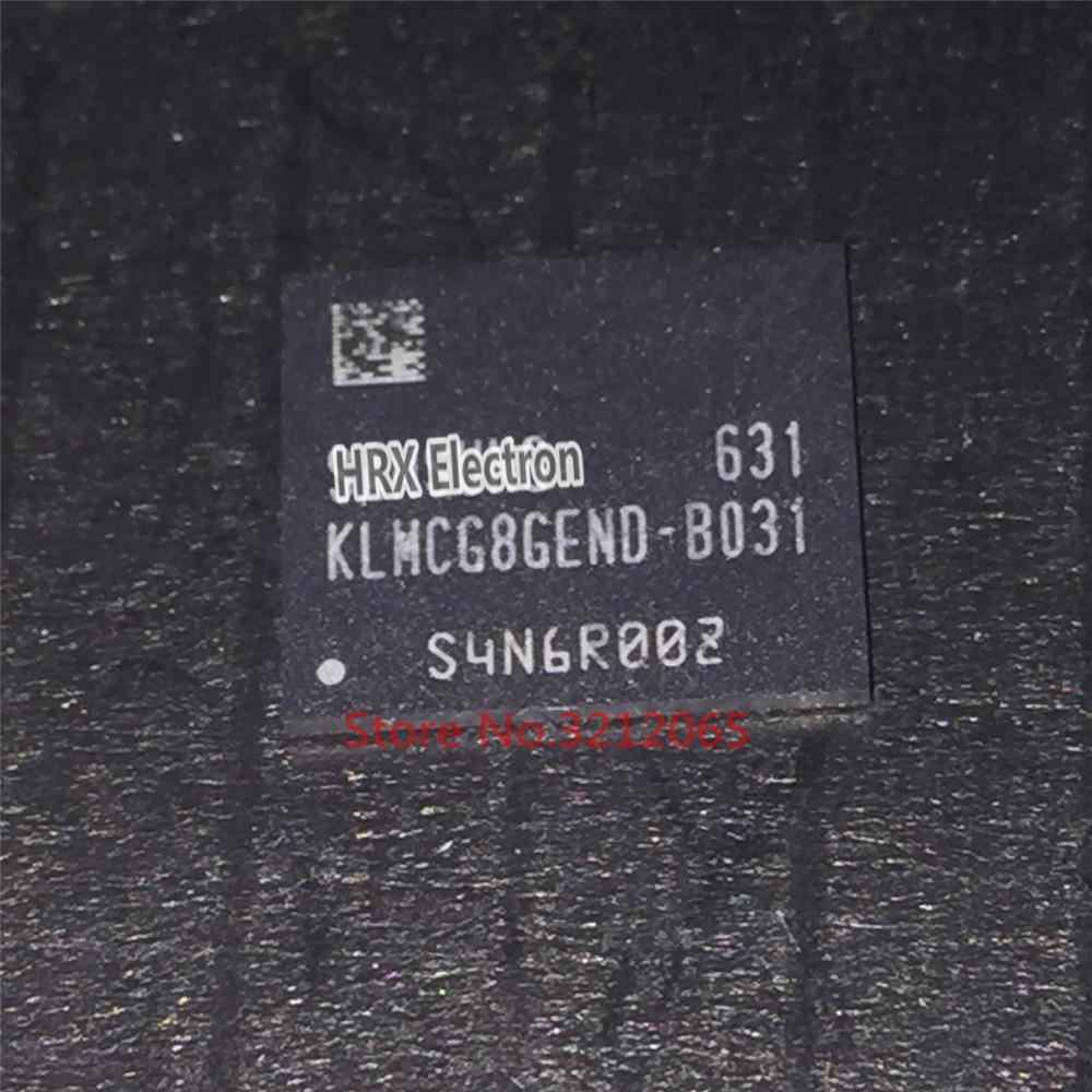 100% New original KLMCG8GEND-B031 64G EMMC BGA KLMCG8GEND B031 1pcs 2pcs 5pcs 10pcs 100% new original klmbg4webc b031 bga emmc 32gb memory chip klmbg4webc b031