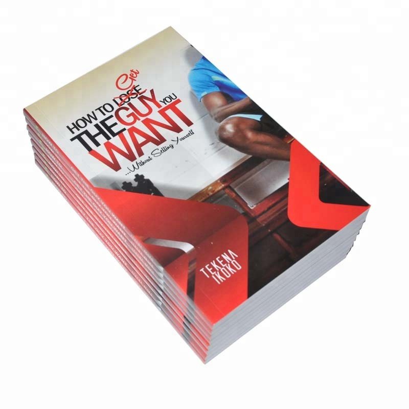 Cheap Full Coloring Softcover Paper Books Printing Service