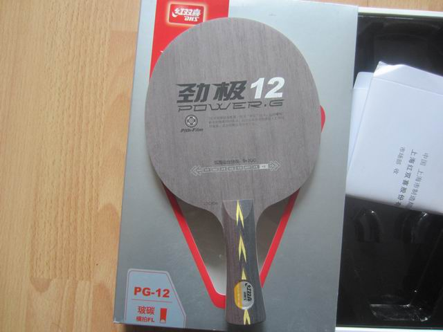 ФОТО Original DHS Power.G 12 (Power G12, PG12, PG 12) table tennis blade, DHS blade for table tennis racket