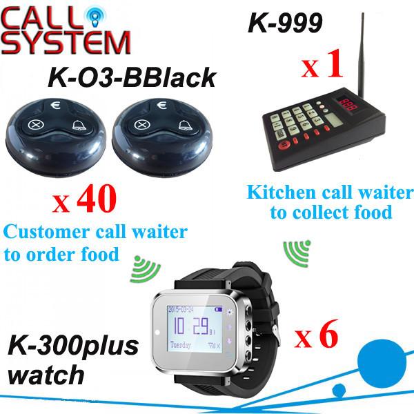 K-999+300plus+O3-BBlack 1+6+40 Customer caller bell system