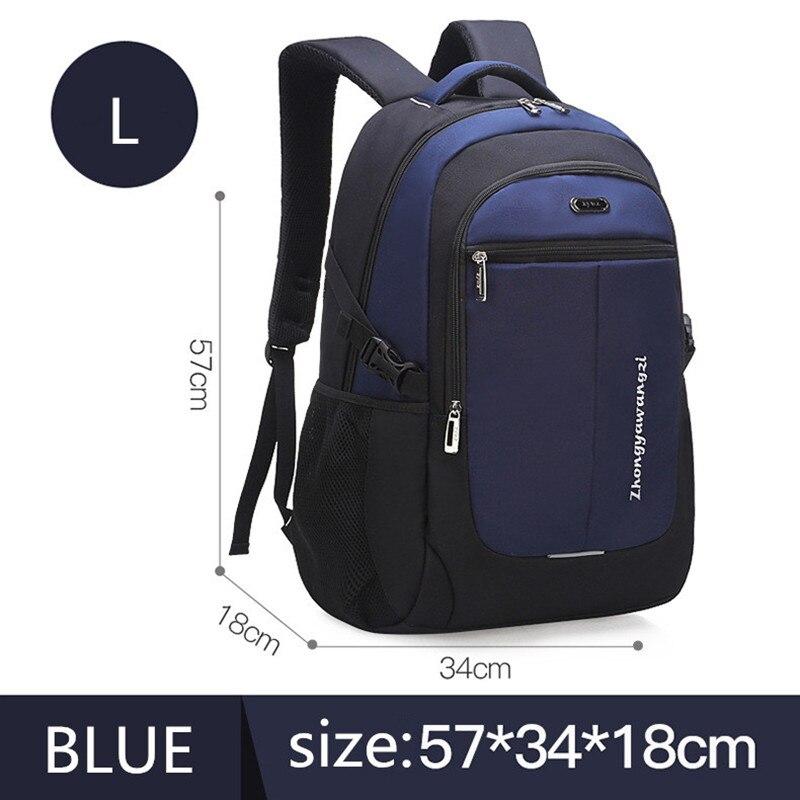 d2ffaa5a7 Mochila de viaje para hombres de gran capacidad de moda 2019, mochila para  ordenador portátil, mochilas ortopédicas para niños chico adolescentes, ...