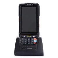 Baixo custo de alta qualidade android 7.0 código de barras terminal telefone inteligente com 2d scanner de código de barras|barcode terminal|android barcode|android barcode terminal -