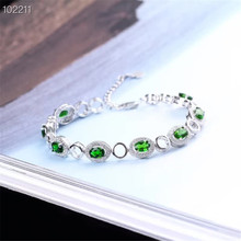 gemstone jewelry factory wholesale SGARIT brand white gold 925 sterling silver natural crystal adjustable bracelet for women