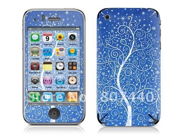 Home Button Skin Sticker for iPhone 3G S Free Shipping