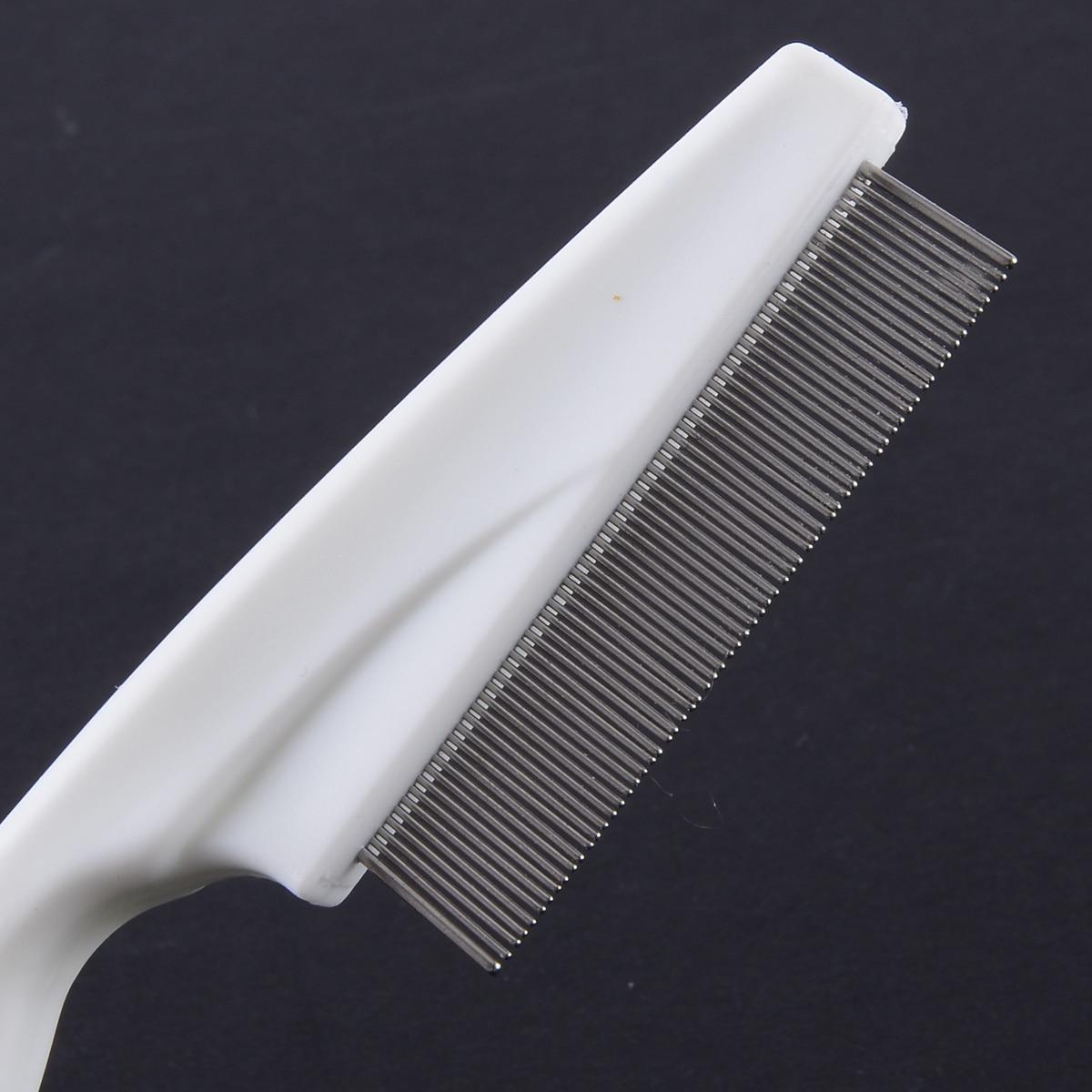 Metal Nit Head Hair Lice Darıxdırılmış İncə Dişli Flea Flee - Saç qayğı və üslubu - Fotoqrafiya 5