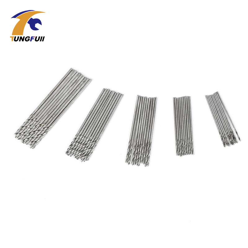 TUNGFULL 50 pcs Micro Forets Ensemble 0.5mm-0.9mm Convient aux Forets - Foret - Photo 2