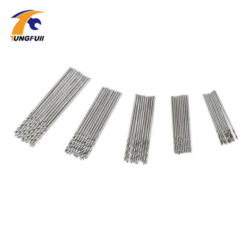 Set di micro trapani TUNGFULL 50 pezzi 0,5 mm-0,9 mm Adatto per punte - Punta da trapano - Fotografia 2