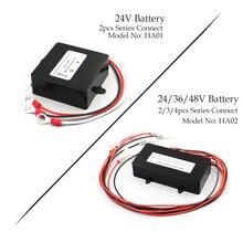 В 24 В в 48 в солнечная система эквалайзер батареи батарея балансировки зарядное устройство контроллер HA01 HA02 для свинцово-кислотная батарея банк системы Черный