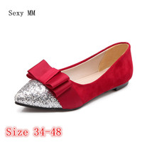 Shoes Woman Slip On Shoes Loafers Girl Ballet Flats Women Flat Shoes Soft Comfortable Plus Size