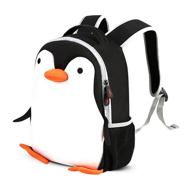 e074213f07 Sacchetti di Scuola 2018 Bambini Mini Zaino asilo Per Bambini Cartoon  Pinguino Impermeabile Zaini Satchel per Ragazzi e Ragazze in Sacchetti di  Scuola 2018 ...