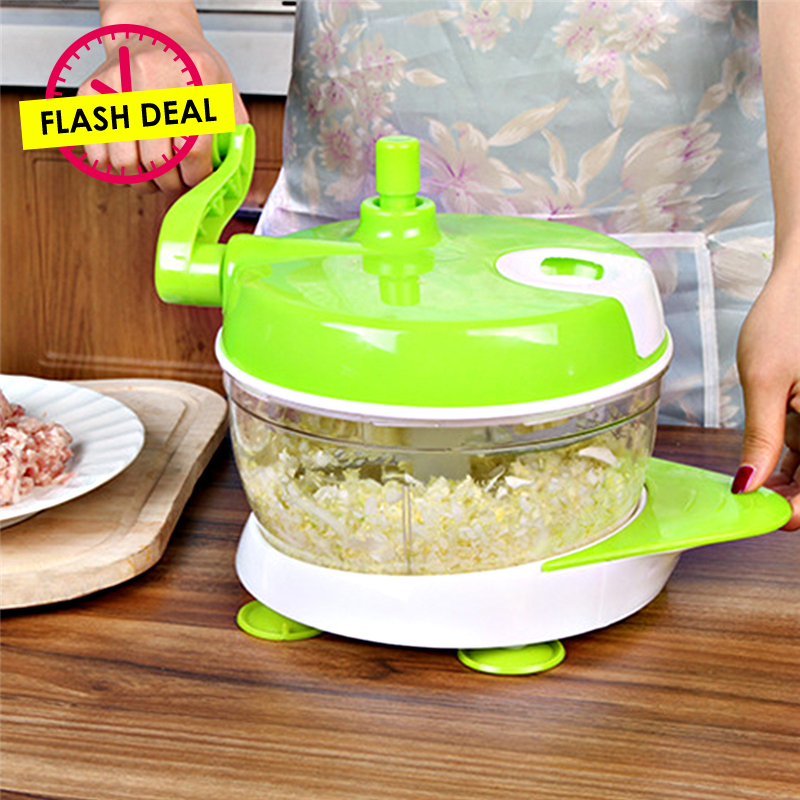 Ttlife Flash Deal Vegetable Chopper Garlic Grinder Egg