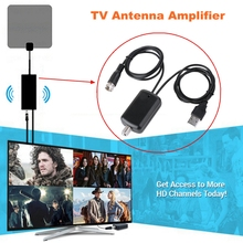 Antena Digital HDTV Signal Amplifier Booster for Cable TV Fox Antenna TVFox Better Signal HD Channel 25db TV Booster Amplifier