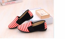 Summer Cool women's blue stripe cloth pink shoes cute flat shoes lady casual street shoes Autumn female flats Zapatos Hombre