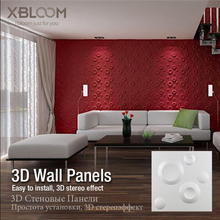 30x30cm 3D Wall Panels Mars space mold embossed home wall decorative Three-dimensional board PVC plastic decor