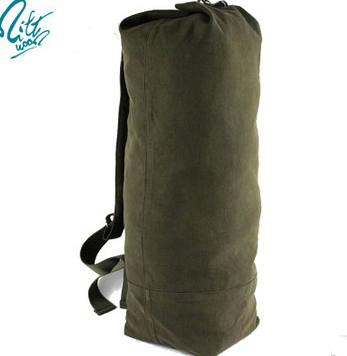 Avatar Top Loading Military Duffle Bags New 23oz Canvas Available In Olive Drab Or Black