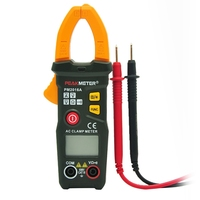 PEAKMETER PM2016A Digital Clamp Meter Multimeter 6000 Counts Portable Handheld Data Hold AC DC Voltage Resistance