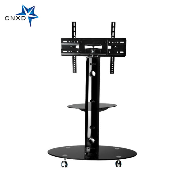 Online Shop Mobile Tv Stand Bracket Floor Tv Carts With Adjustable