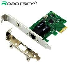 Karta sieciowa 1000 mb/s Gigabit Ethernet PCI Express PCI E 10/100/1000M RJ 45 RJ45 Adapter LAN konwerter sieciowy
