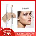 New Brand Face Makeup 5 Colors Optional Concealer Liquid Brush Convenient Rotary Concealer Brush Professional Make Up Sets