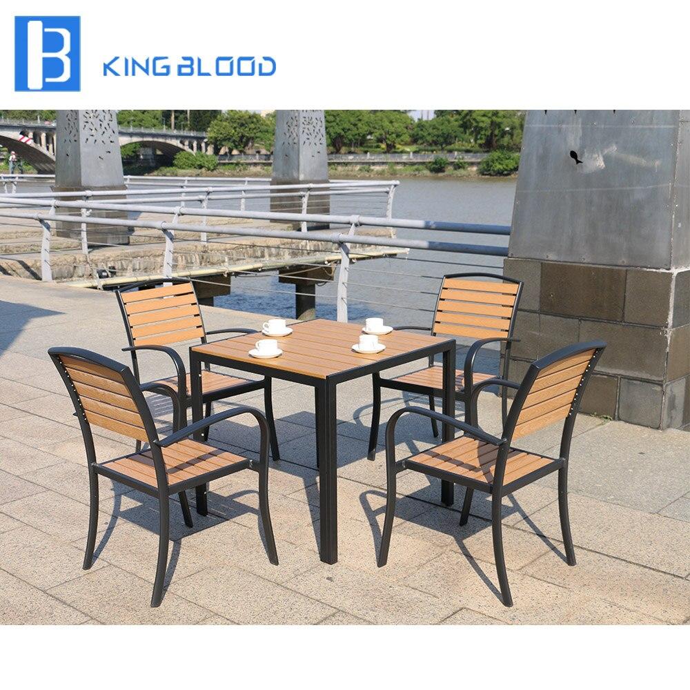Kayu plastik harta outdoor taman patio furniture di meja di luar ruangan dari furniture aliexpress com alibaba group