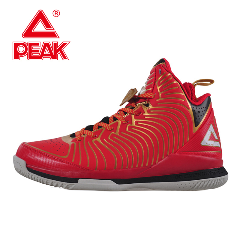 PEAK SPORT Star Models BATTIER IX Men Basketball Shoes Breathable Athletic Training Ankle Boots FOOTHOLD Cushion-3 Tech Sneakers peak sport lightning ii men authent basketball shoes competitions athletic boots foothold cushion 3 tech sneakers eur 40 50