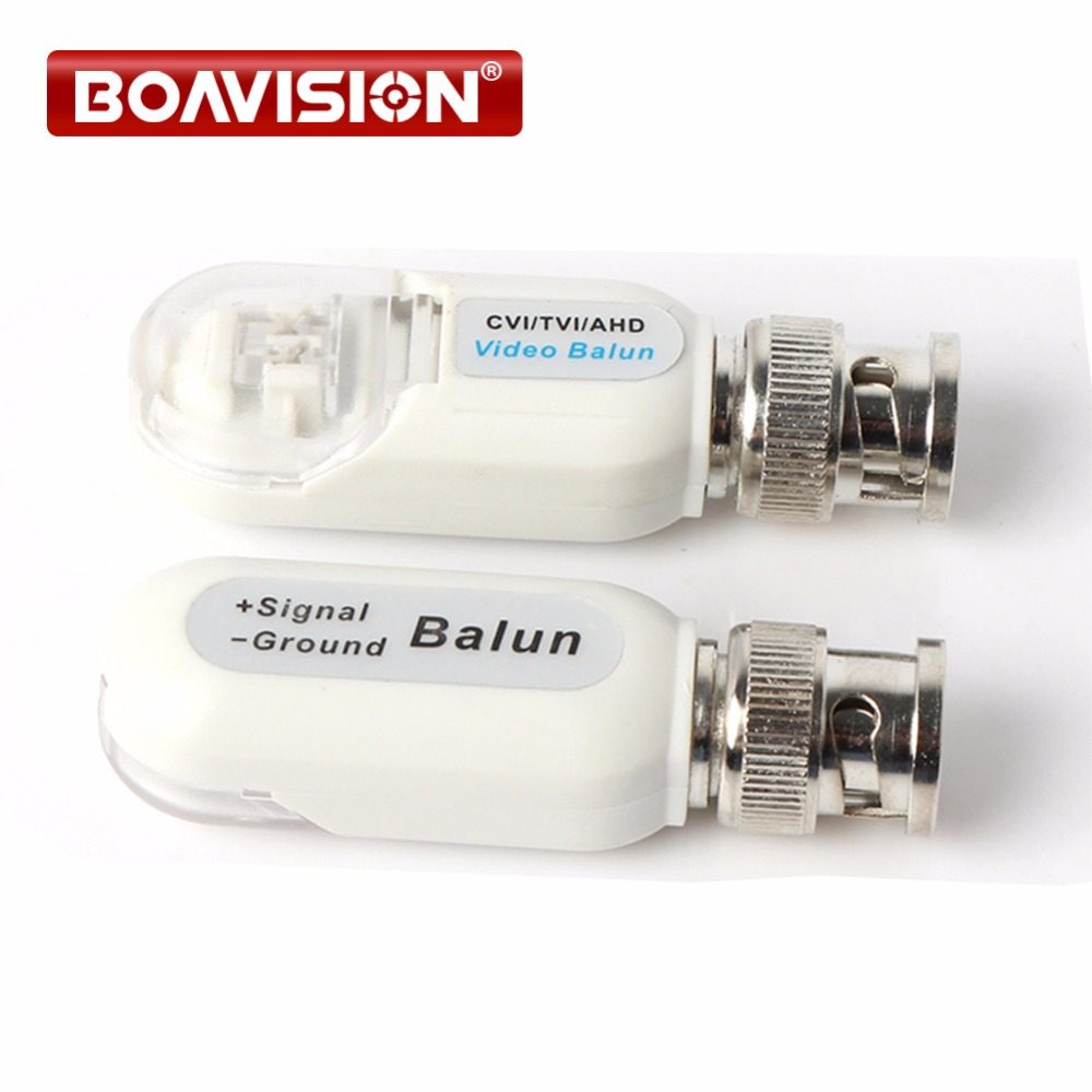 HD BNC To UTP Cat5/5e/6 Video Balun HD Transceivers Adapter Transmitter Support 720P/1080P,AHD/CVI/TVI Camera Waterproof Housing кабель usb 2 0 am microbm 1м gembird белый cc mapusb2w1m