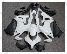 Motorcycle abs non verniciato bianco carena kit per honda cbr500r cbr 500 r 2013 2014 2015 + 4 regalo