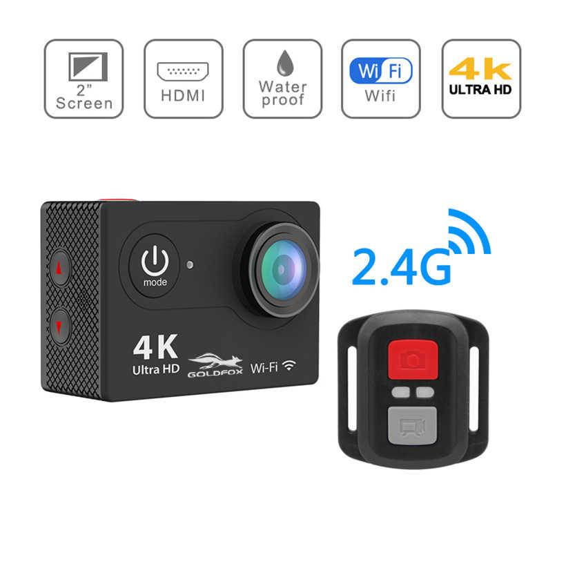 H9 экшн Камера со сверхвысоким разрешением Ultra HD, 4 K/25fps WiFi 2 дюйма 170D подводный Водонепроницаемый шлема видео Запись камеры DV Бесплатная доставка видеорегистратор Спорт действий Cam