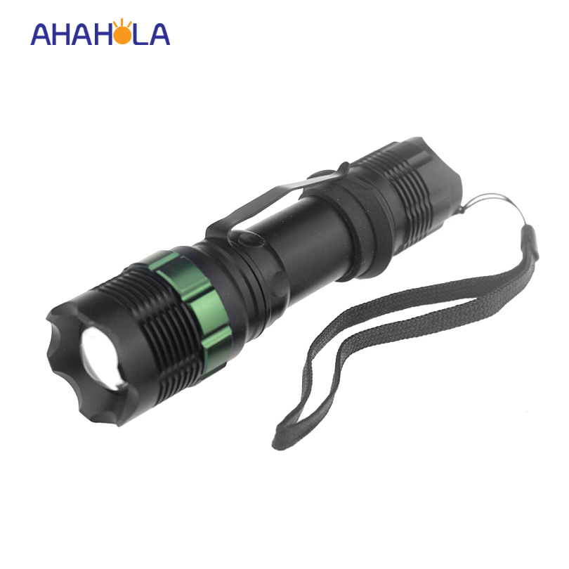 3 modes cree xml-t6 mini led flashlight torch 1200lm xml t6 flash light zoomable mini flashlights led lamp no 18650 battery zoomable tactical 4000 lumen 5 modes cree xml t6 led torch lamp light 18650 noj06