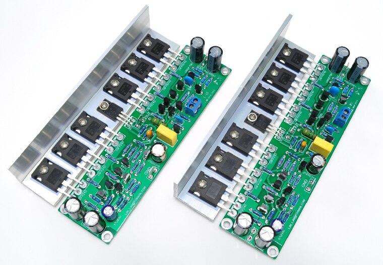Geassembleerd L15 MOSFET Versterker Board 2 Channel AMP IRFP240 IRFP9240-in Speakeraccessoires van Consumentenelektronica op  Groep 1