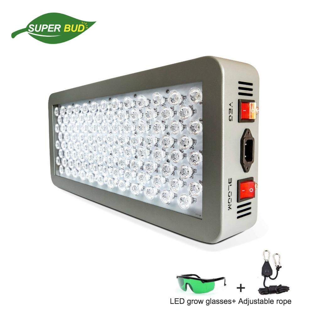 P300 P600 LED رشد نور 300W حالت دوگانه گیاهی و شکوفه کامل طیف UV در لنزهای نوری هیدروپونیک لنزهای نوری باغ داخلی سیستم چادر رشد