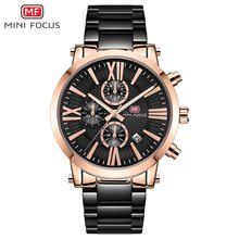 MINIFOCUS Business Sport Men Watch Chronograph Waterproof Calendar Quartz Watches Fashion Military Clock Male Relogio Masculino pacific angel shark sport watch luxury calendar quartz men male watches fashion red black leather band relogio masculino sh094