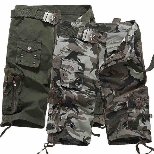 Camouflage Korte Broek Dames.Dames Camo Katoen Zomer Sport Multi Pocket Wandelen Cargo Korte